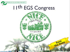 EGS - Nice 2014 - Save the date !